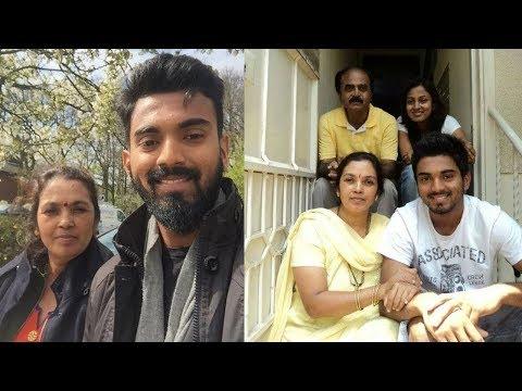 k l rahul family