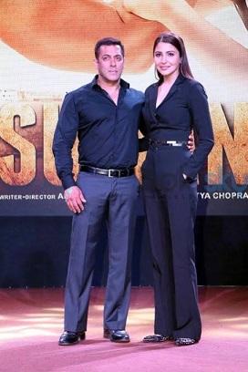 salman khan and anushka sharma height comparison