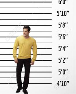 salman khan height