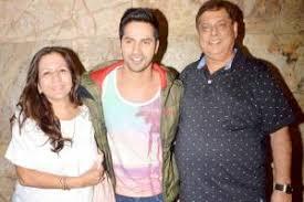 varun dhawan with parents