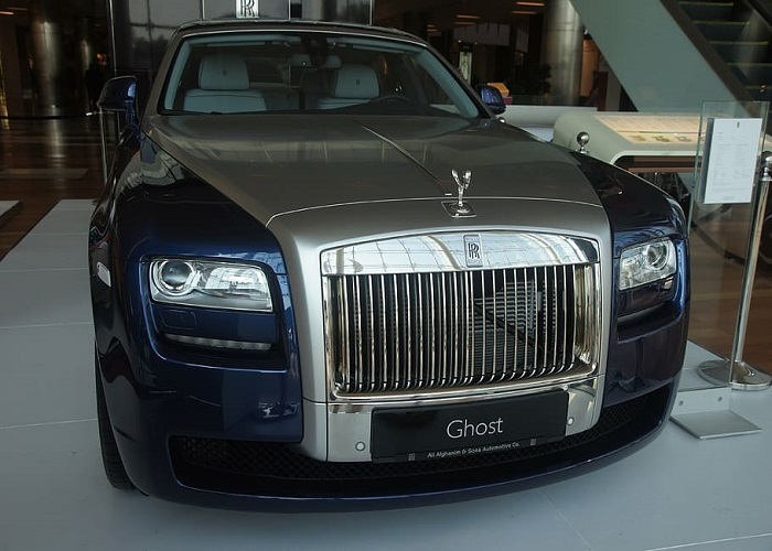Roll Royce Phantom VIII Extended Wheelbase
